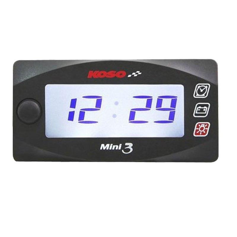 Voltmètre Koso Super Slim Style Avec Horloge