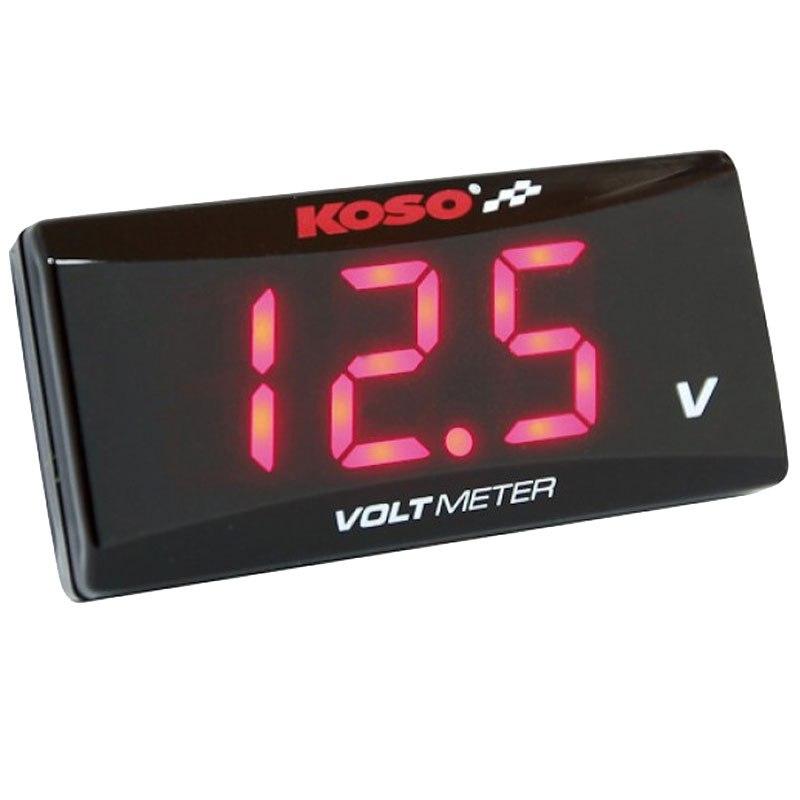 Voltmètre Koso Super Slim Style
