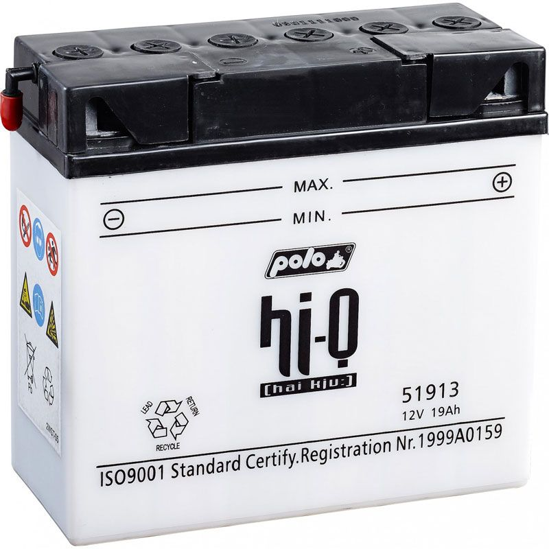 Batterie HI-Q 51913 sans pack acide