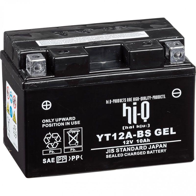 Batterie HI-Q YT12A-BS ferme Type Acide Sans entretien