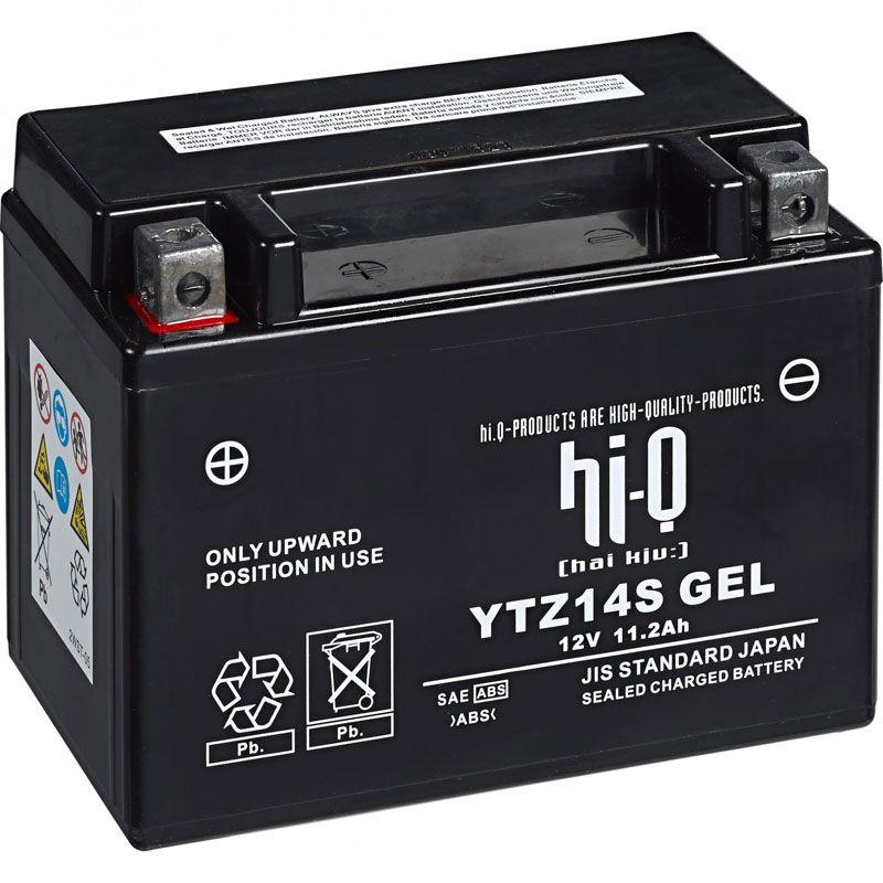 Batterie HI-Q YTZ14S ferme Type Acide Sans entretien
