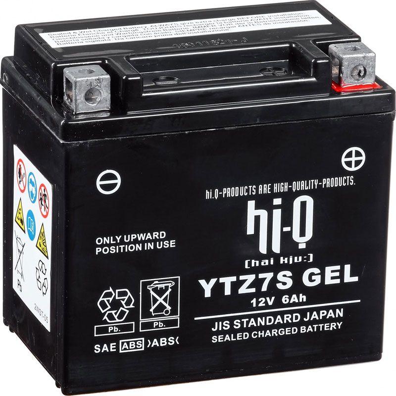Batterie HI-Q batterie YTZ7S ferme Type Acide Sans entretien