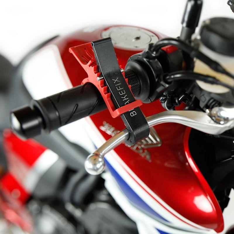 Bloque roue Acebikes brakefix sur levier de frein