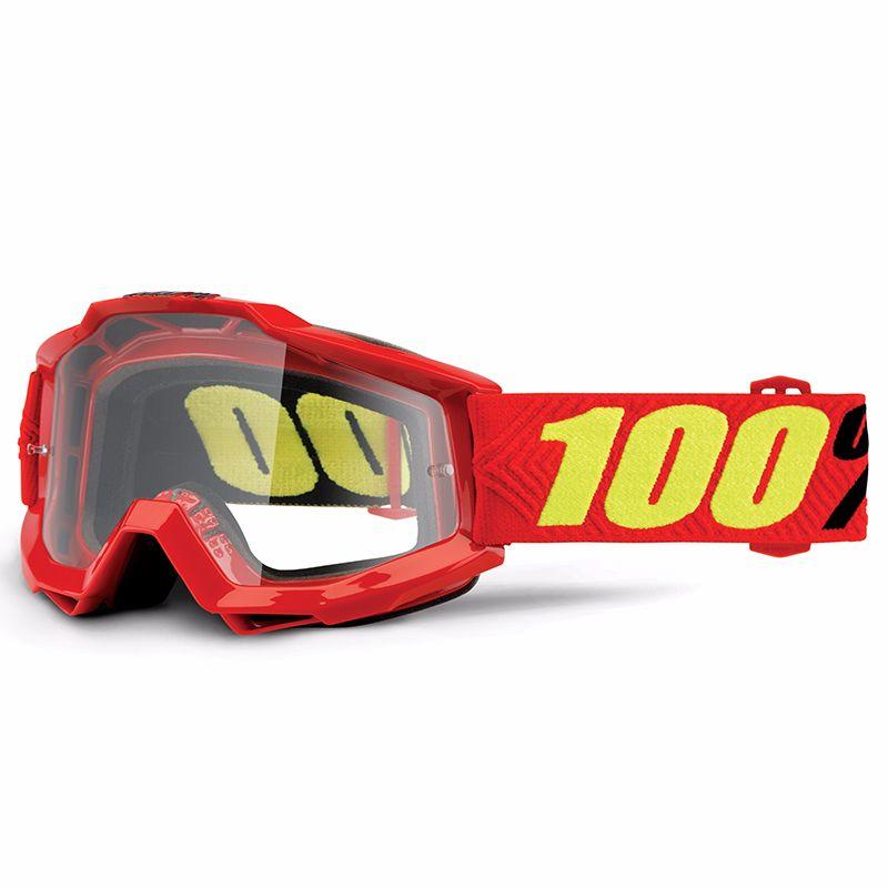 Masque cross 100% ACCURI - SAARINEN - ECRAN CLAIR - 2020