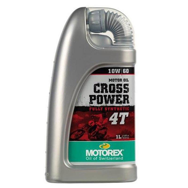 Huile Moteur Motorex Cross Power 4t 10w60 1l