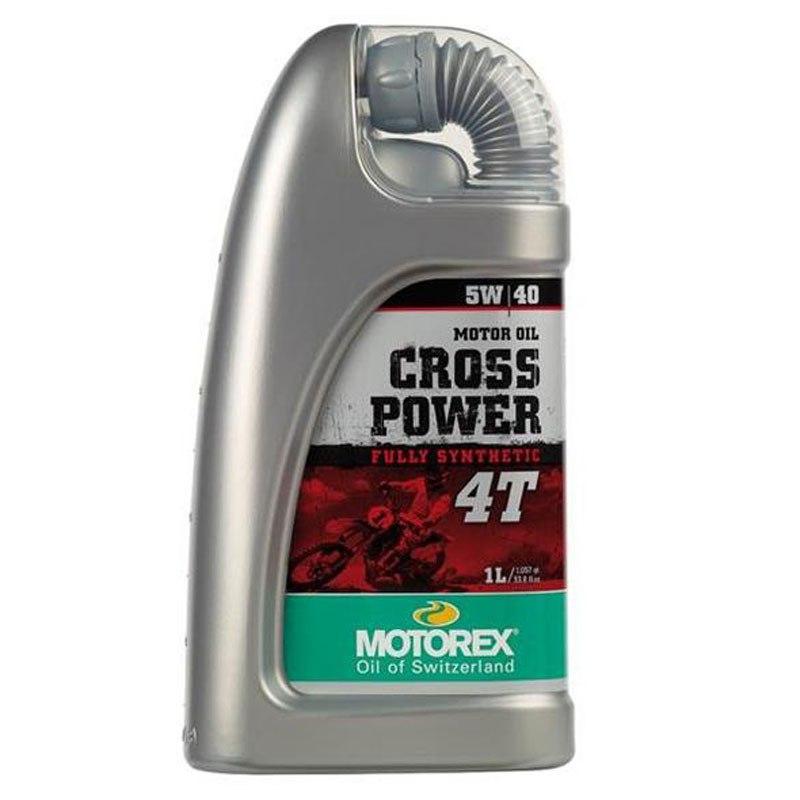 Huile Moteur Motorex Cross Power 4t 5w40 1l