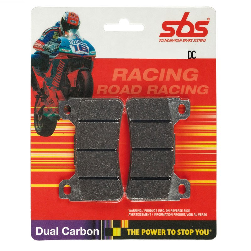 Plaquettes De Freins Sbs Racing Carbon Avant
