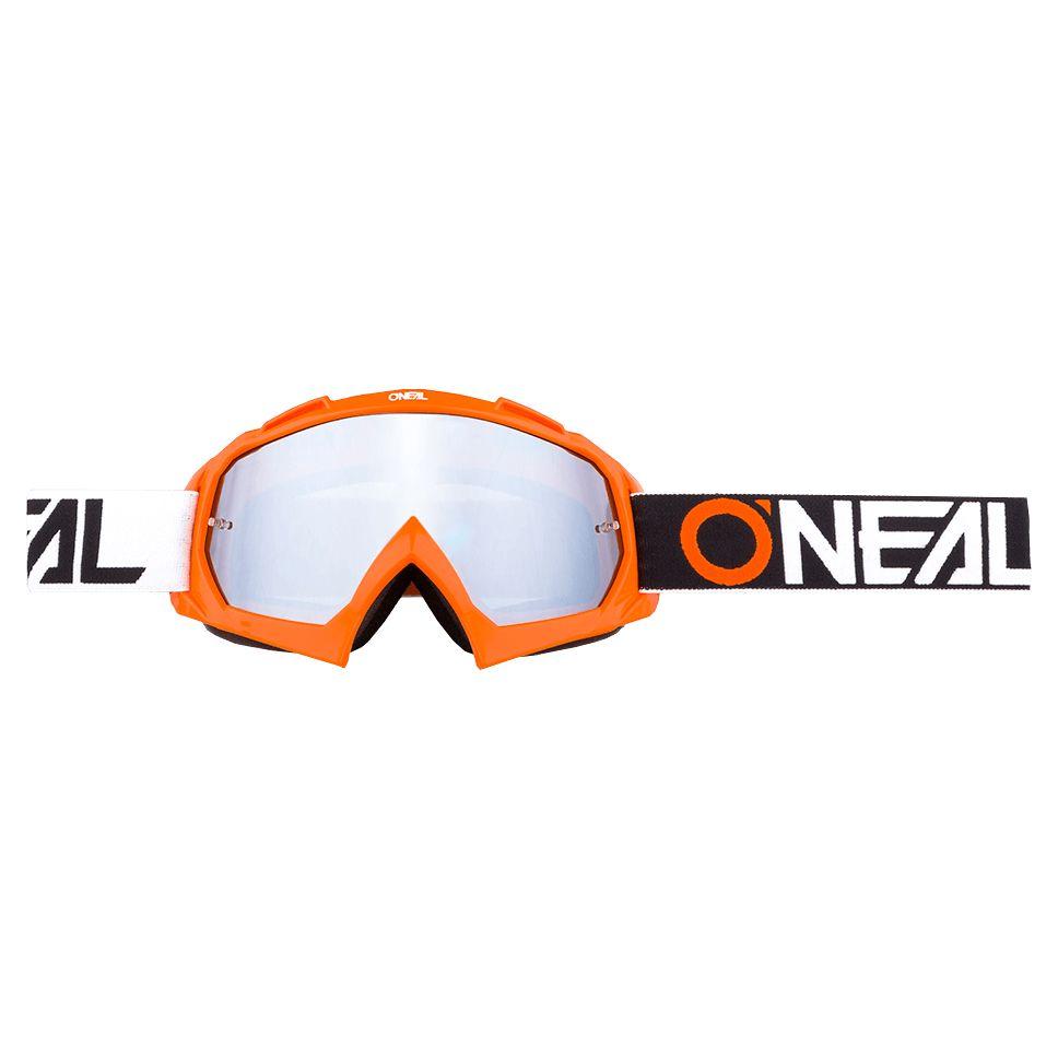 Masque Cross O'neal B-10 - Twoface Orange - Ecran Iridium -