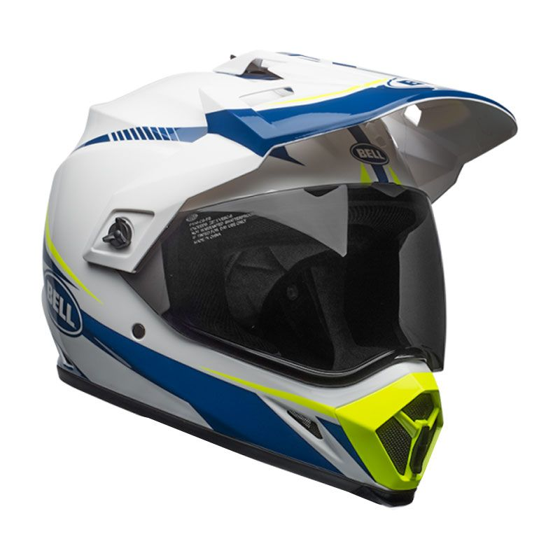Casque Bell MX-9 ADVENTURE MIPS TORCH BLANC/BLEU/JAUNE