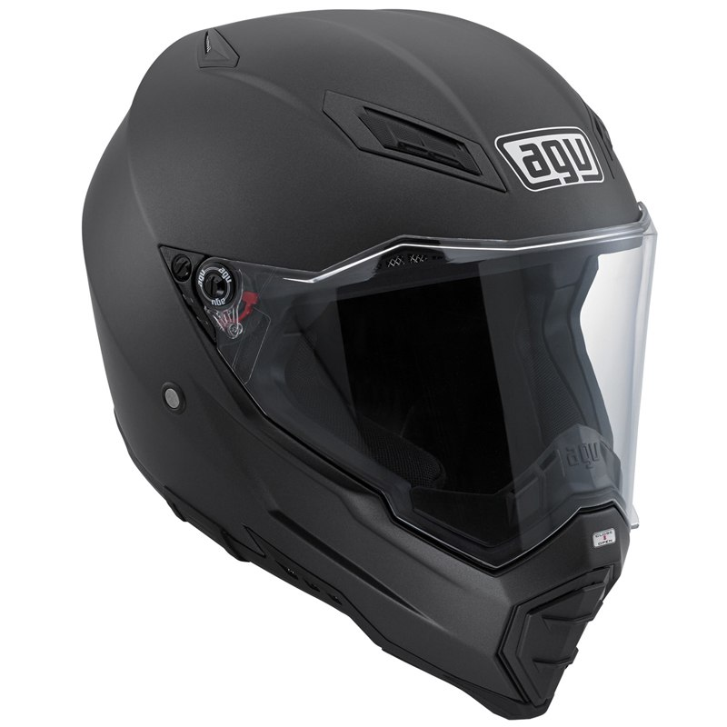 Casque Agv Ax-8 Evo Naked - Matt Black