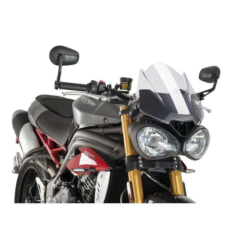 Saute Vent Puig Sport Habillage Protection Moto Motoblouzcom