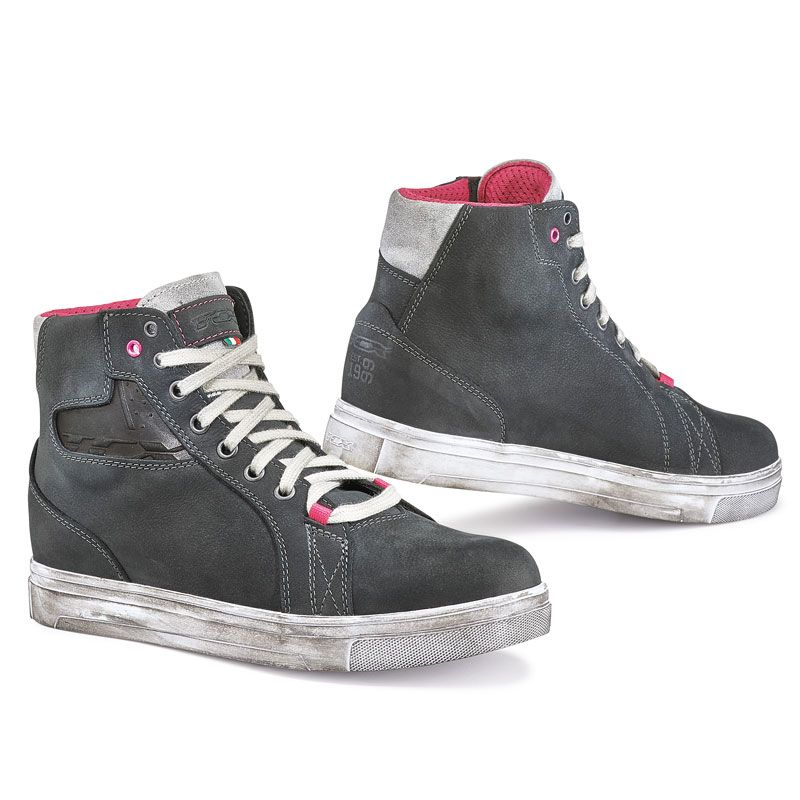 Chaussures TCX Boots STREET ACE LADY DARK GREY WATERPROOF