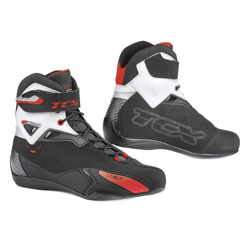 Baskets Tcx Boots Rush - Black White Orange