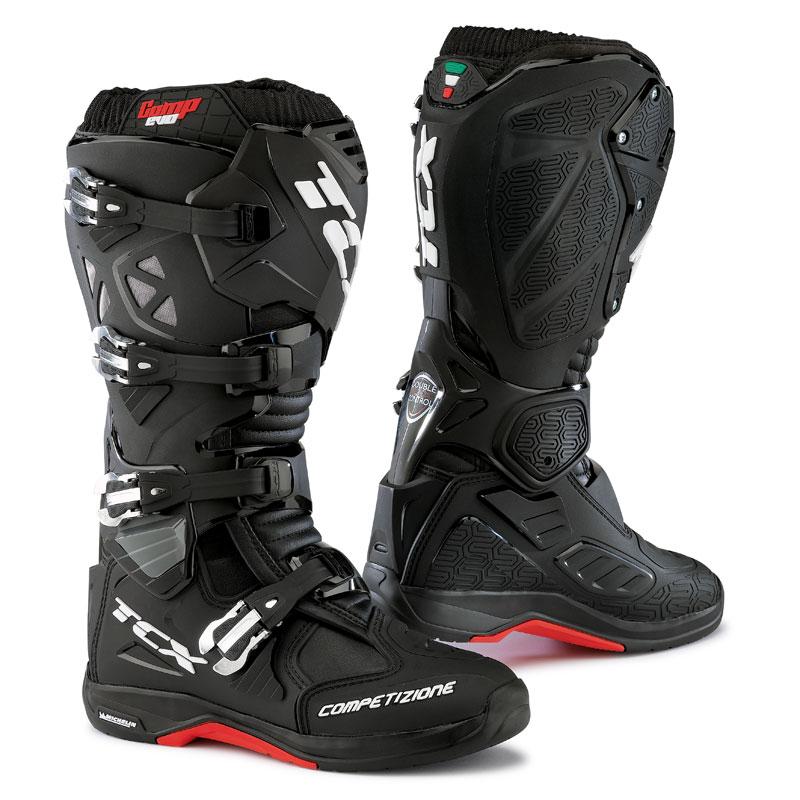 Bottes Cross Tcx Boots Comp Evo Michelin Noir