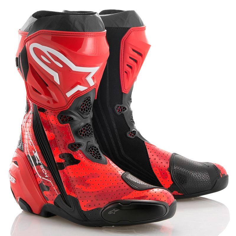 Bottes Alpinestars Supertech R Vented 99camo Edition Limit 233 E Lorenzo 2018