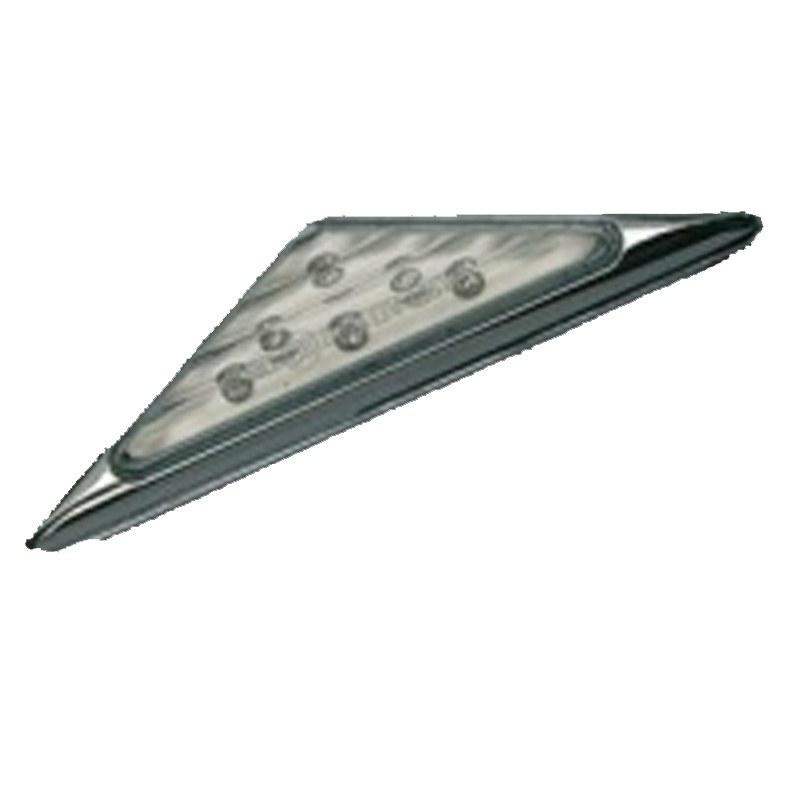 Clignotant Ermax Triangulaires blanc led