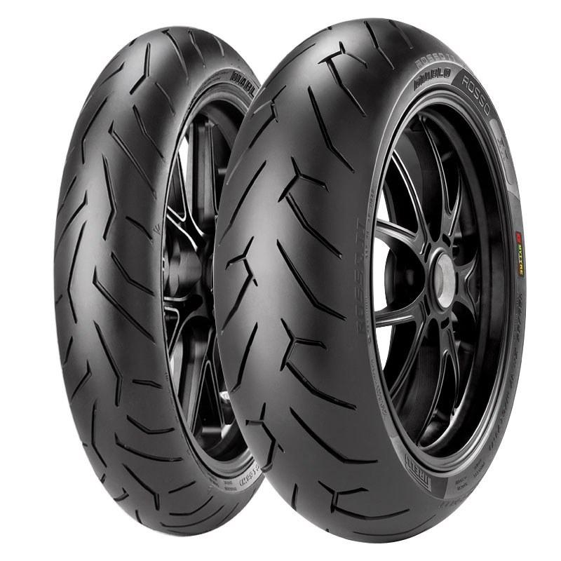 Pneumatique Pirelli DIABLO ROSSO II 180/55 ZR 17 (73W)