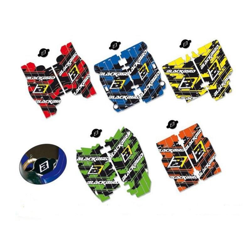 Stickers Blackbird Pour Grille De Radiateur