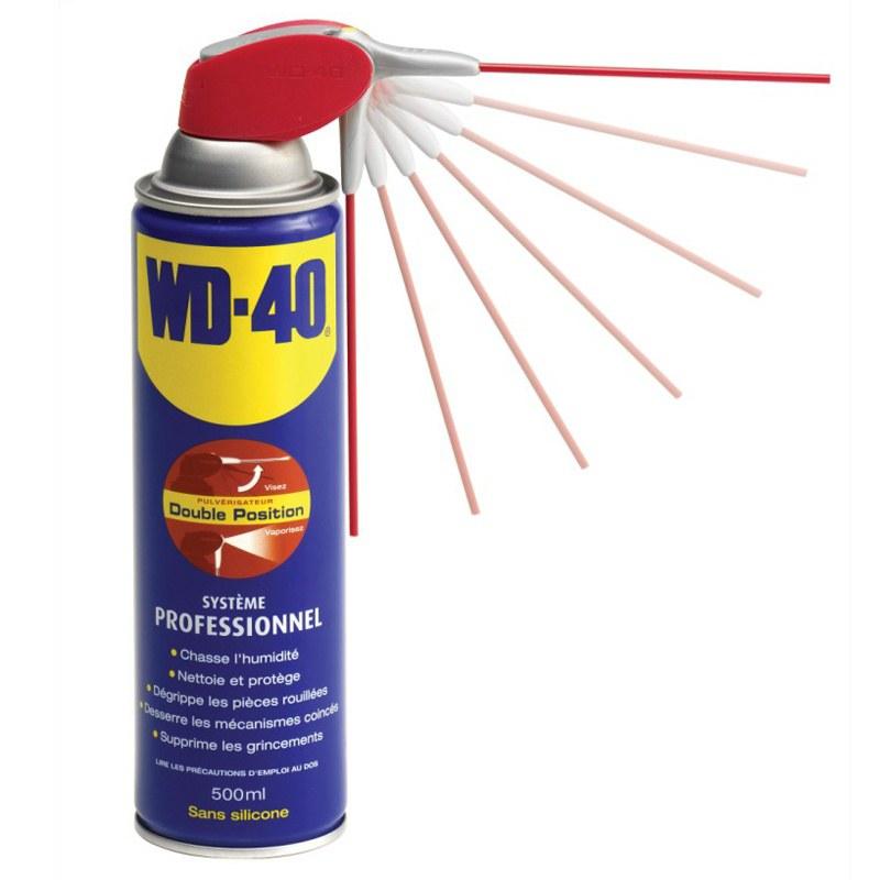 Produit Entretien Wd 40 Spray Double Position 500 Ml