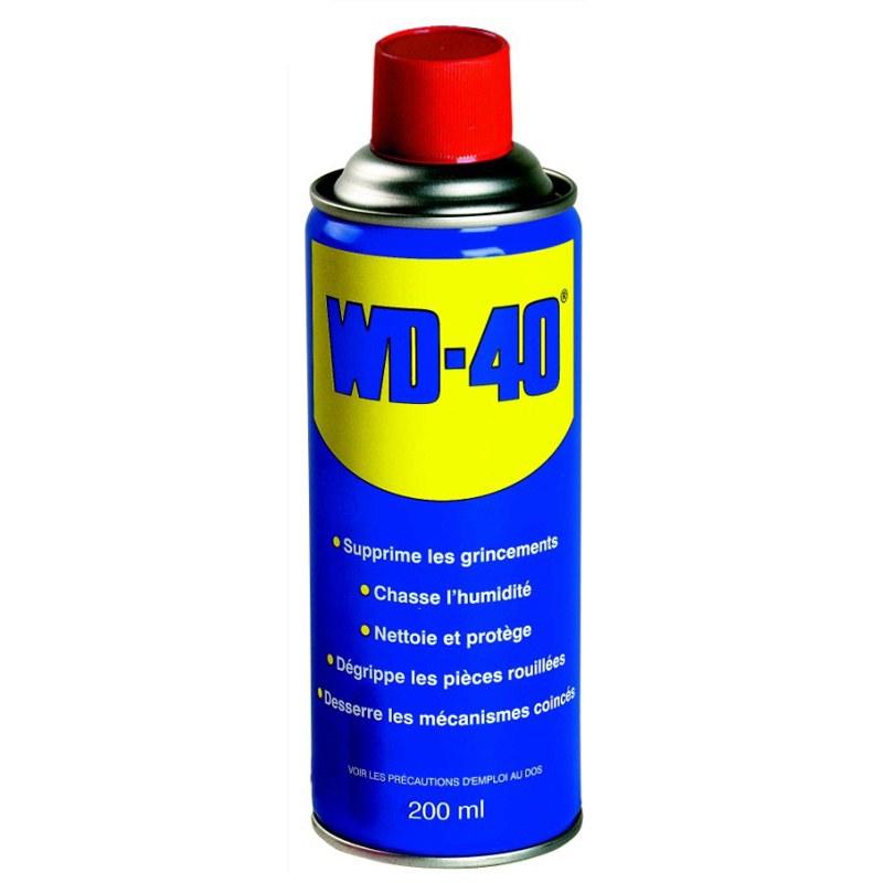 Produit Entretien Wd 40 Spray 200 Ml