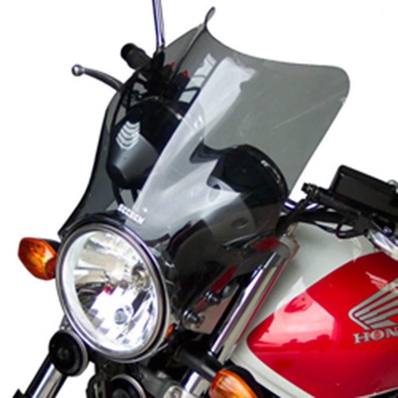 saute vent bullster incolore avec becquet habillage moto. Black Bedroom Furniture Sets. Home Design Ideas