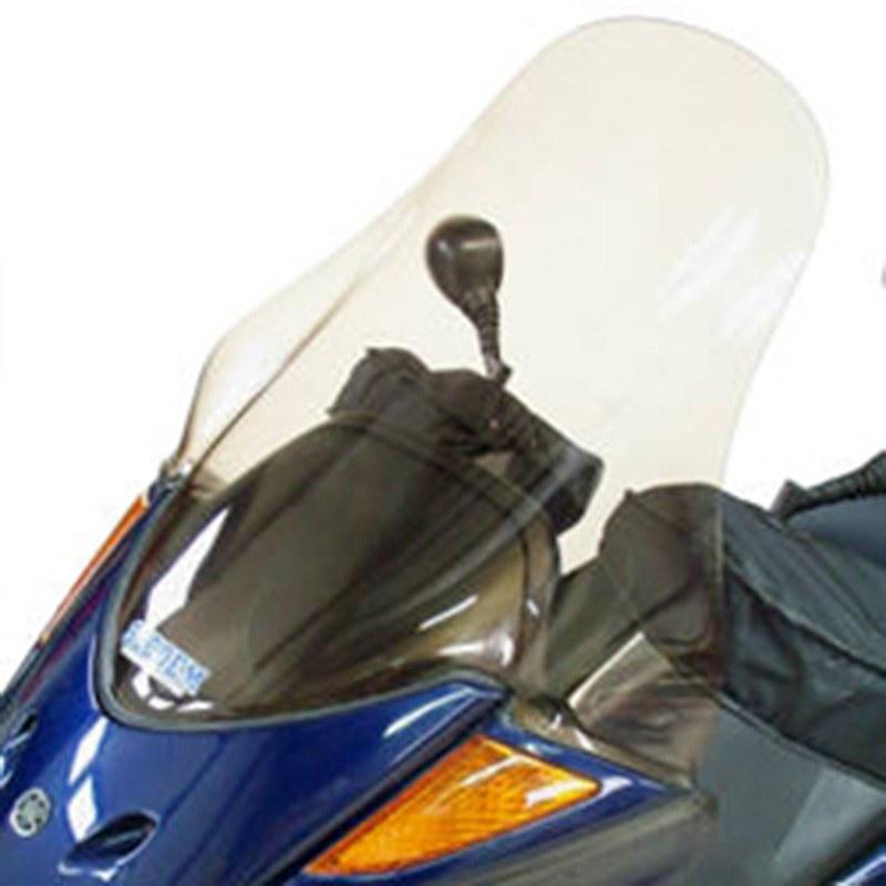 Pare Brise Bullster Haute Protection Fume Gris +75.5cm