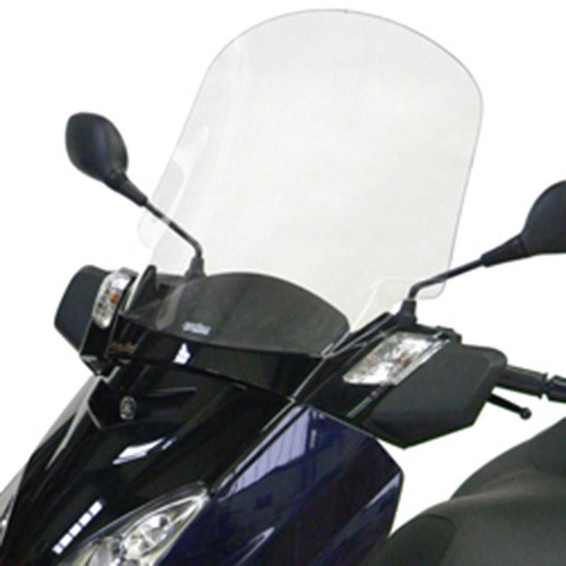 Pare Brise Bullster Haute Protection Noir Opaque +56.5cm