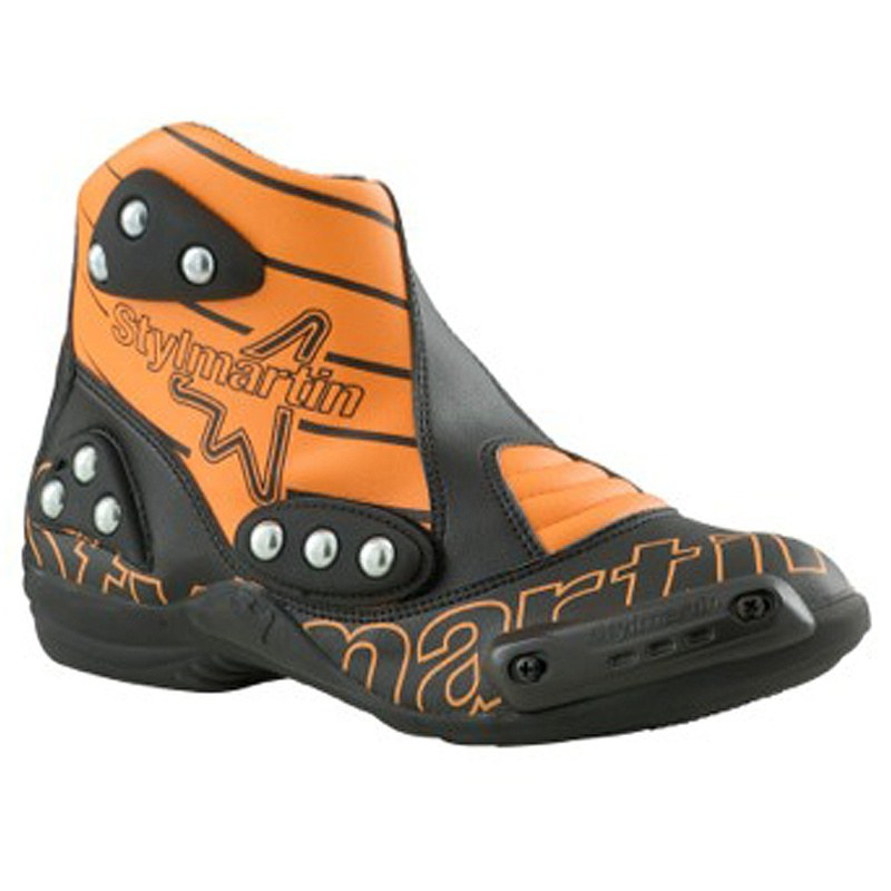 demi bottes stylmartin speed s1 orange bottes et chaussures. Black Bedroom Furniture Sets. Home Design Ideas