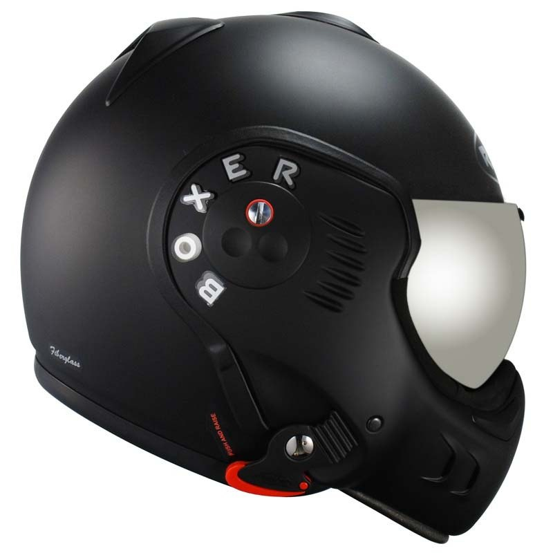 Casque ROOF RO5 BOXER V8 BLACK SHADOW