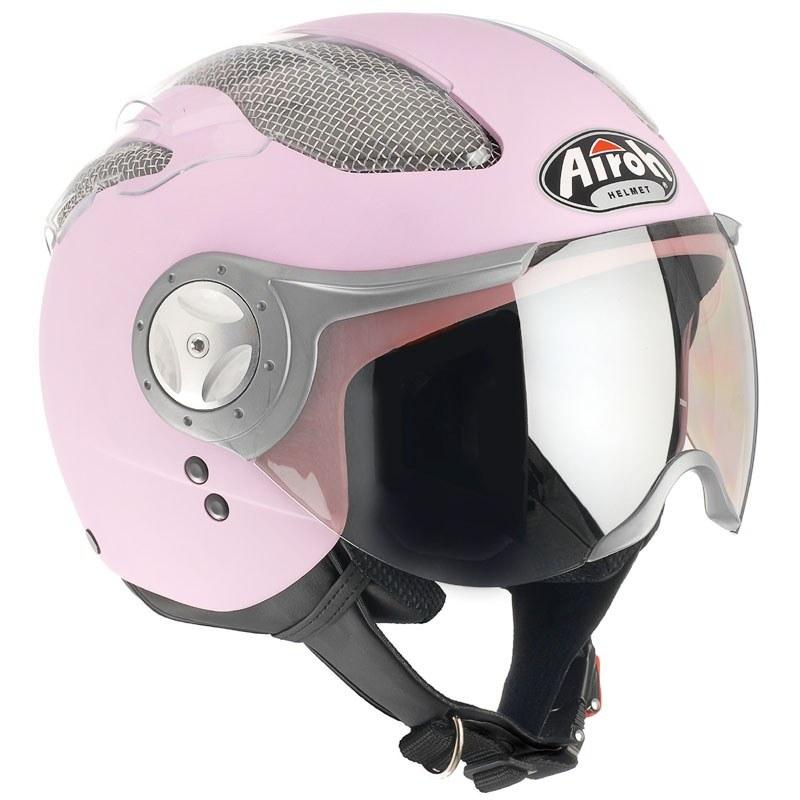 Casque Airoh AIR NAKED ROSE MAT