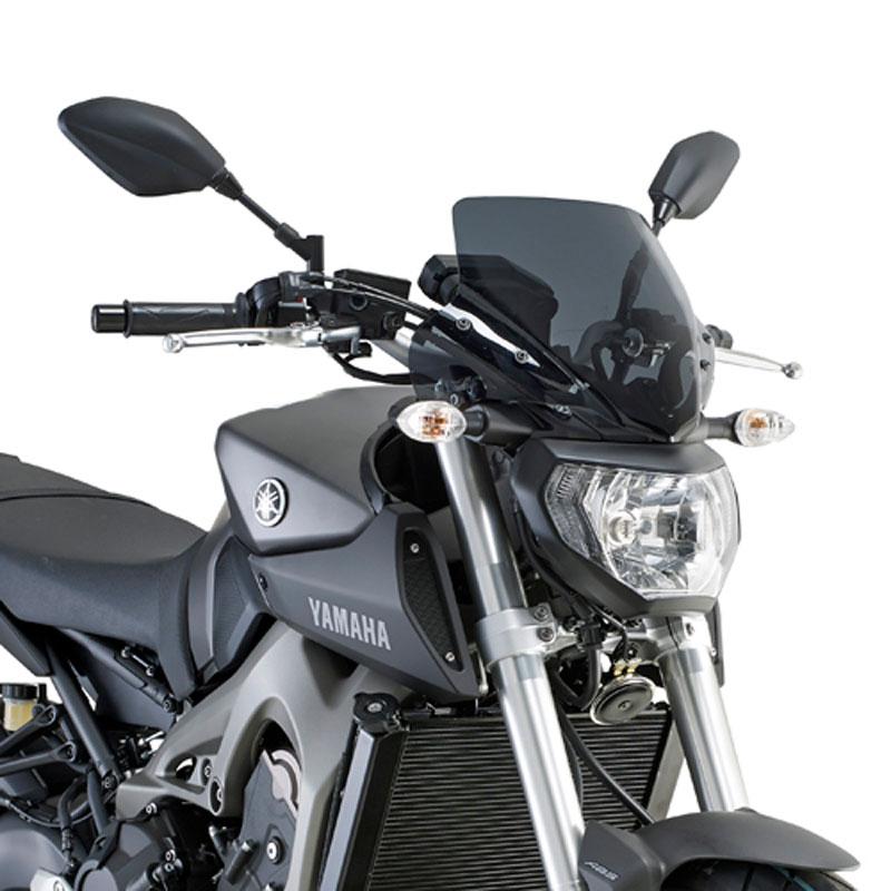 saute vent givi noir opaque habillage moto. Black Bedroom Furniture Sets. Home Design Ideas