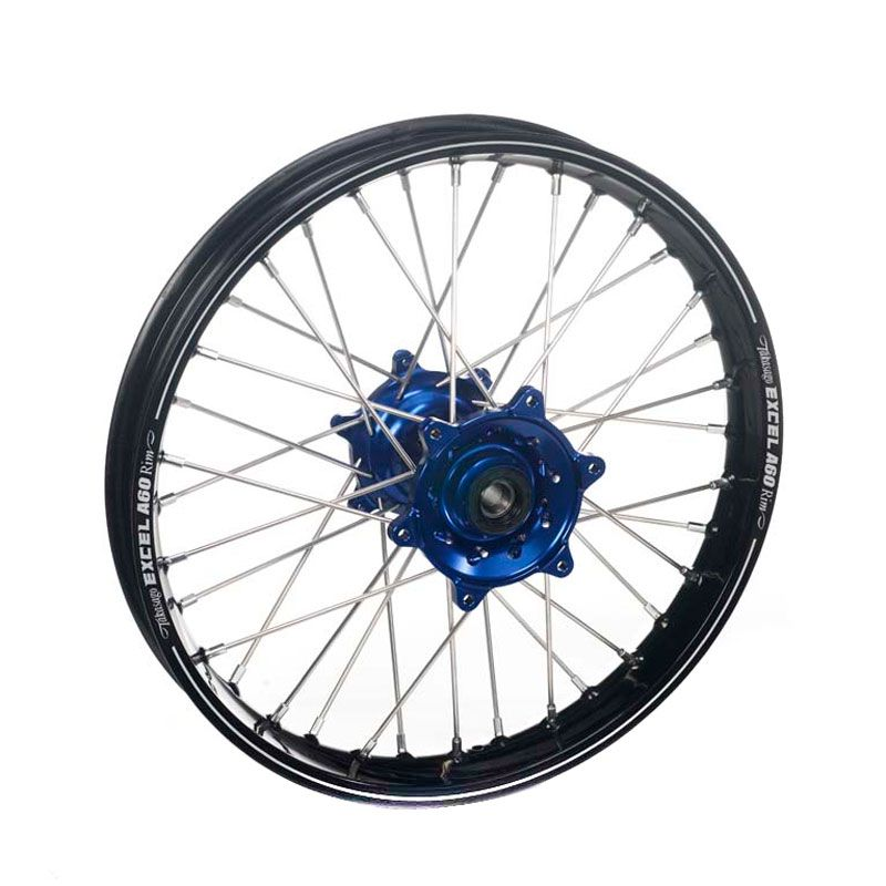 Roue Haan Wheels A60 Avant Dimension 21x1.60 Noir/bleu