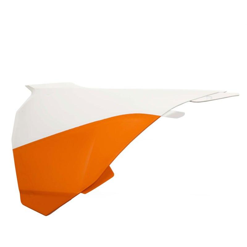 Caches De Boite à Air Acerbis Orange/blanc