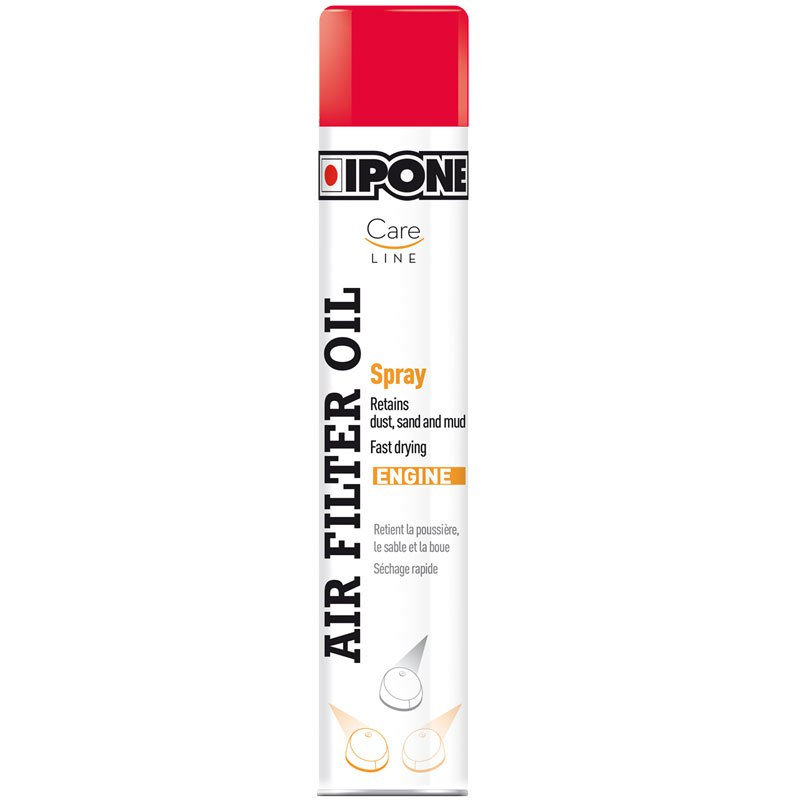 graisse filtre air ipone careline air filter oil spray 750 ml huiles lubrifiants. Black Bedroom Furniture Sets. Home Design Ideas