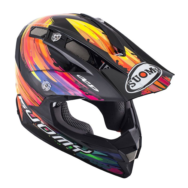 Casque Cross Suomy Alpha Torched