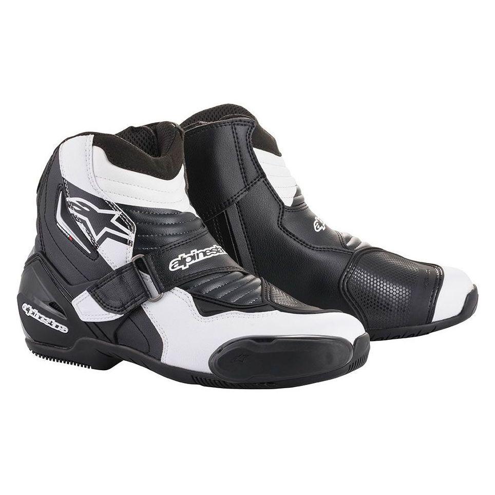 demi bottes alpinestars smx 1 r fluo bottes et chaussures. Black Bedroom Furniture Sets. Home Design Ideas