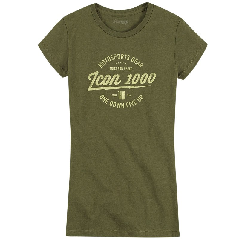 T-Shirt manches courtes Icon 1000 AM SCREAMER WOMENS