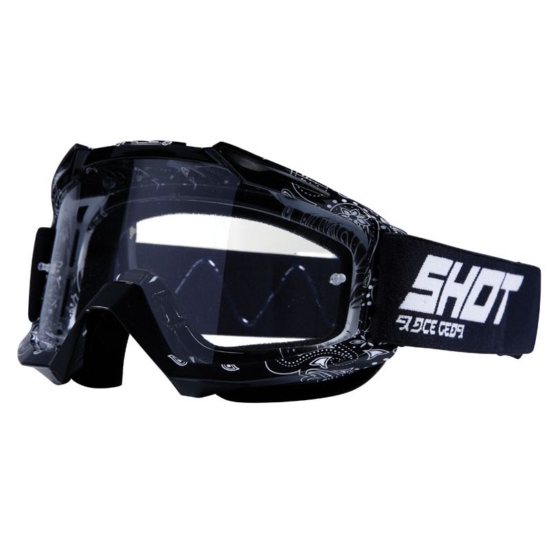Masque cross Shot ASSAULT BANDANA - BLACK 2020