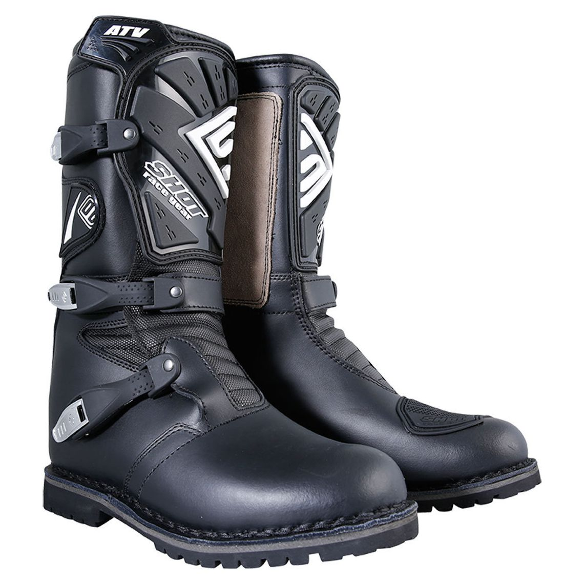 Bottes cross Shot ATV - BLACK 2020