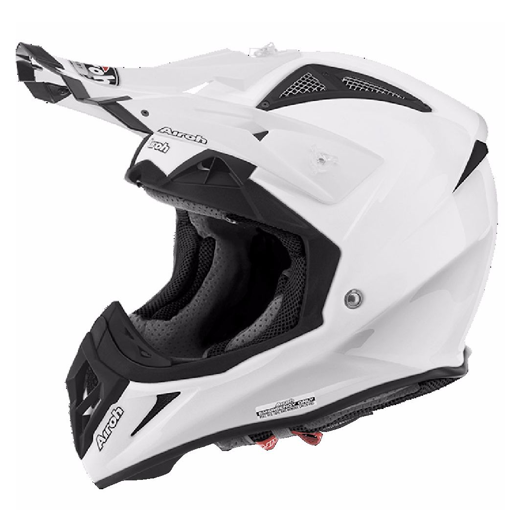 Casque cross Airoh AVIATOR 2.2 - COLOR  - WHITE 2019