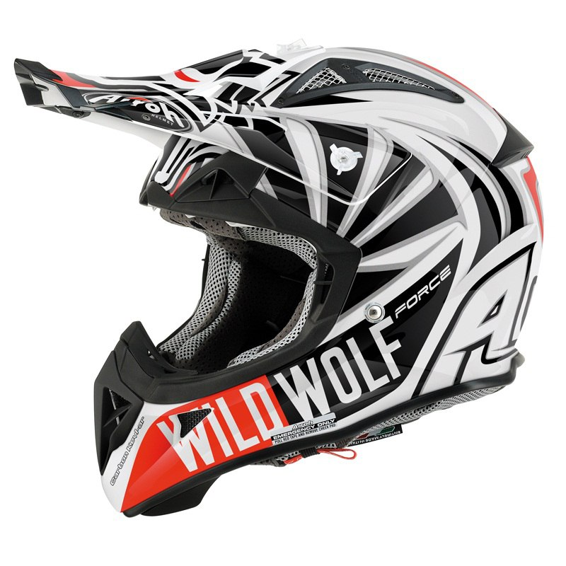 casque cross airoh destockage aviator 2 1 wild wolf 2014 casque cross. Black Bedroom Furniture Sets. Home Design Ideas