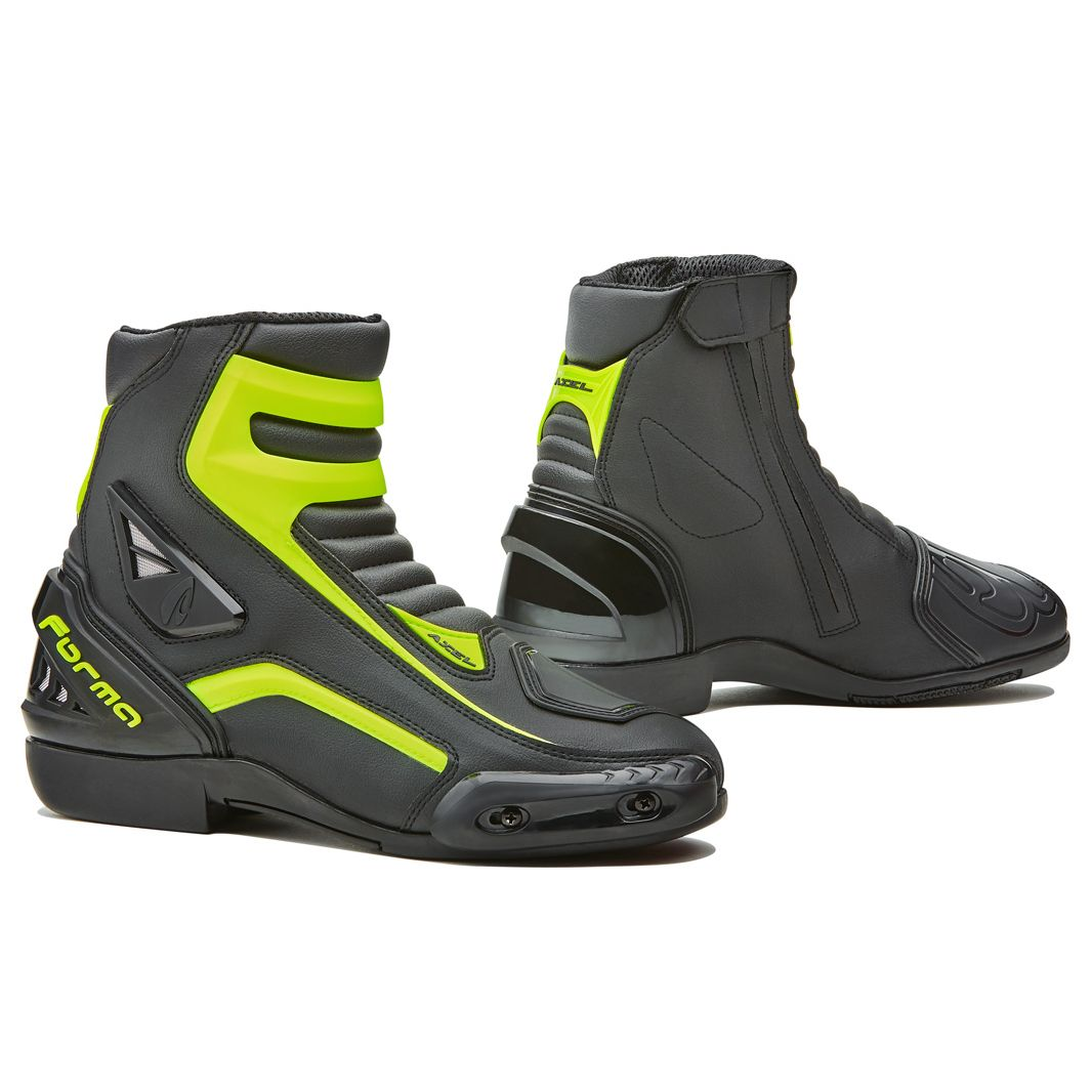 Demi-bottes Forma AXEL - BLACK YELLOW