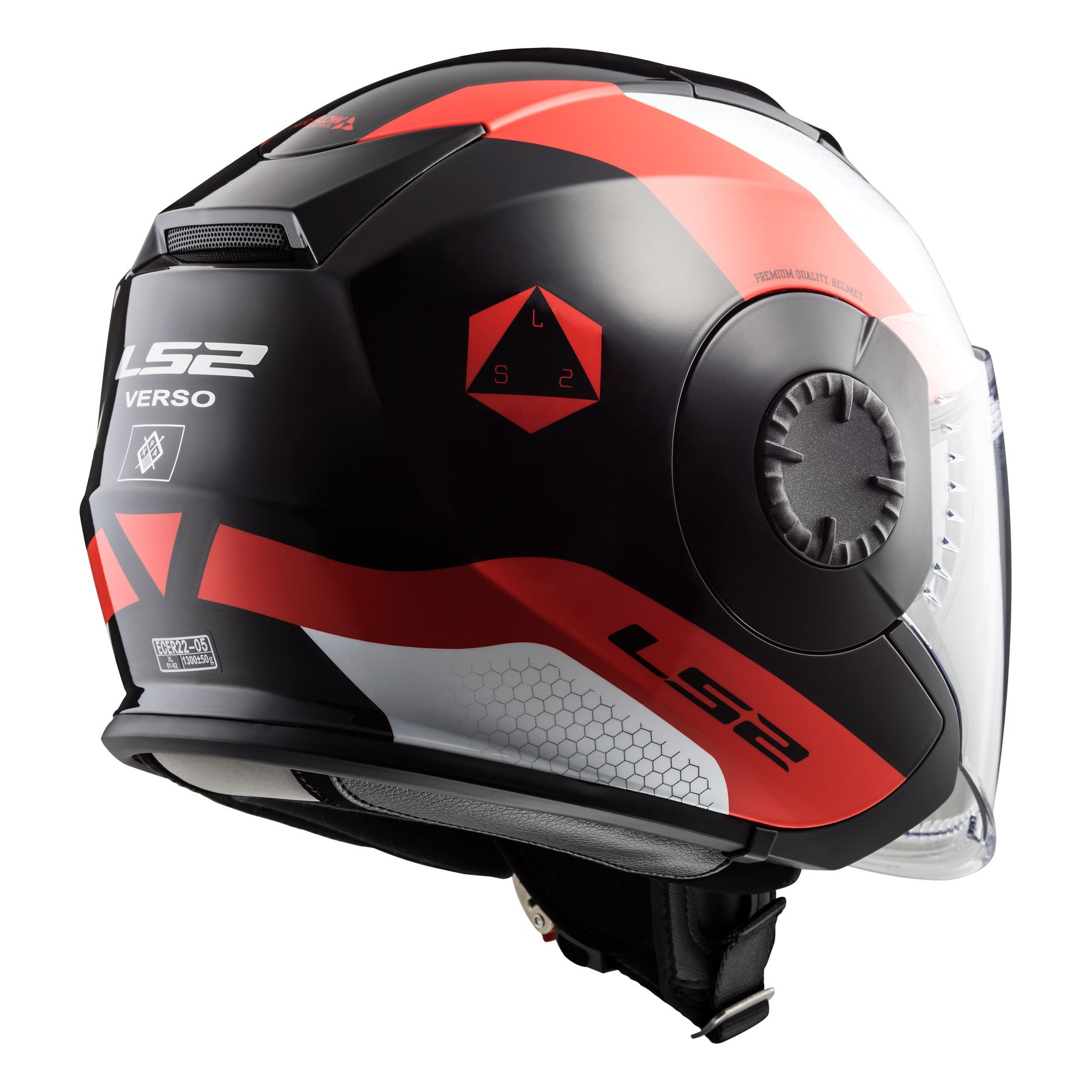 Casque ls2 destockage of570 verso technik