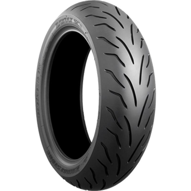 Pneu Bridgestone Battlax Sc 130/70 - 13 (63p) Tl