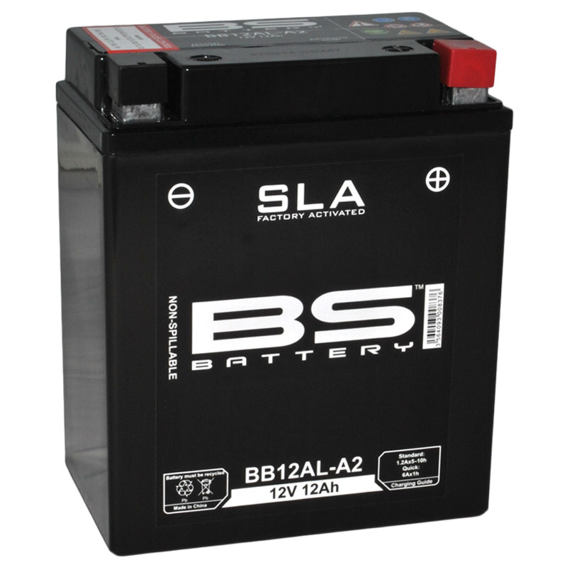 Batterie Bs Battery Sla Yb12al-a2