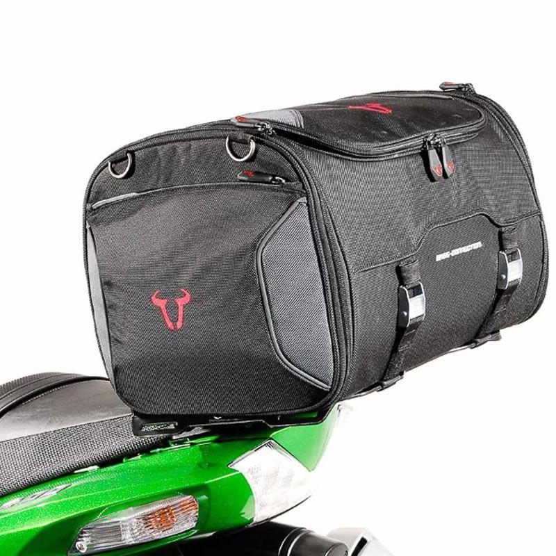 sacoche de selle sw motech rackpack bagagerie moto. Black Bedroom Furniture Sets. Home Design Ideas