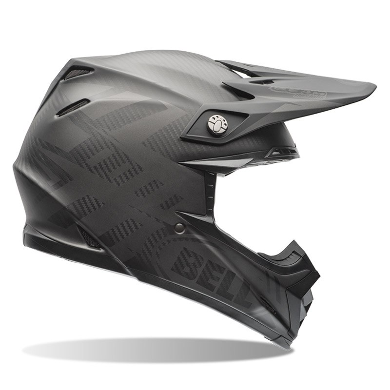 Casque Cross Bell Moto-9 Carbon Flex - Matte Syndrome Noir -