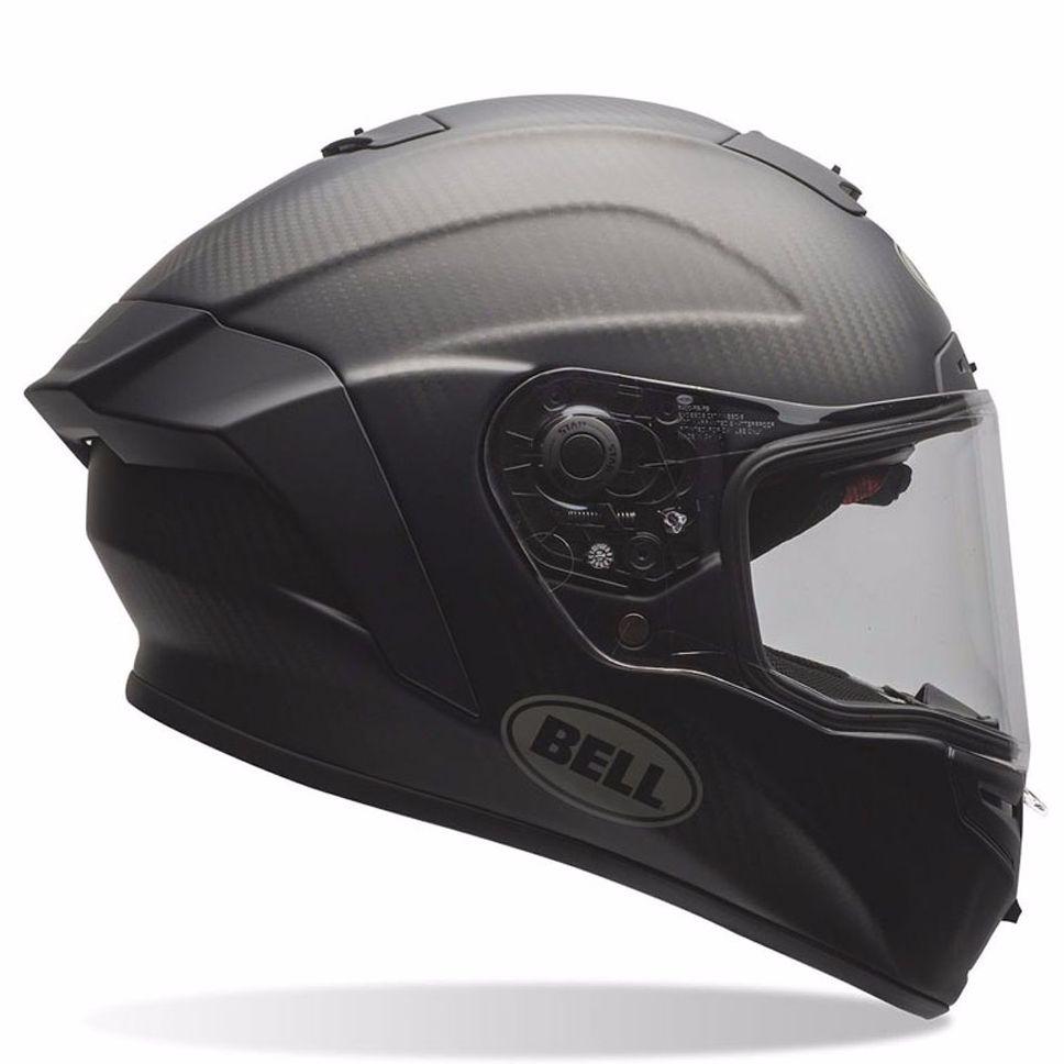 Casque Bell Race Star - Matte Solid Black