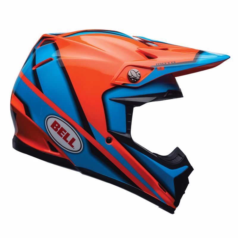 Casque Cross Bell Moto-9 - Spark Orange -