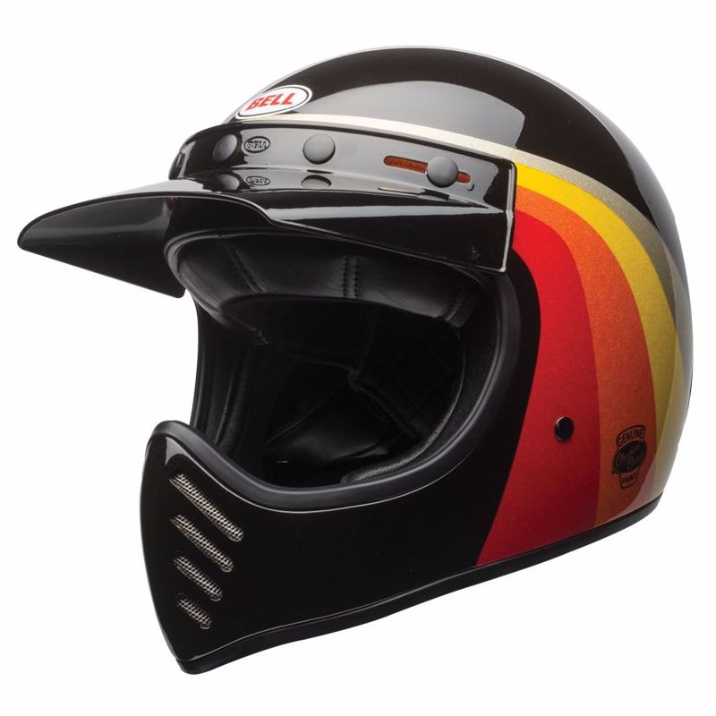 Casque Bell Moto-3 - Chemi Candy Black/gold